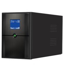 ИБП Ritar E-RTM1000 (600W) ELF-D, LCD, AVR, 3st, 3xSCHUKO socket, 2x12V7Ah, metal Case Q2 (405*195*285) 10 кг (340*120*190)
