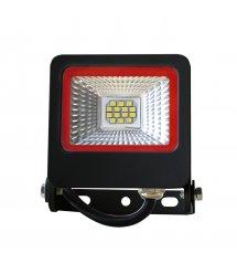 Прожектор LED EUROELECTRIC SMD черный c радиатором 50W 6500K