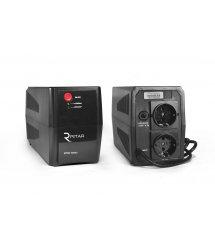 ИБП Ritar RTP500 (300W) Standby-L, LED, AVR 1st, 2xSCHUKO socket, 1x12V4.5Ah, plastik Case Q4 ( 295*140*205 ) 3,8 кг (260*95*13