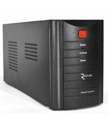 ИБП Ritar RTM500 (300W) Standby-L, LED, AVR, 1st, 2xSCHUKO socket, 1x12V4.5Ah, metal Case ( 260 х 85 х 140 ) Q4