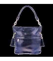 Женская сумка Realer P111 синяя