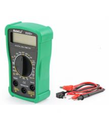 Мультиметр BAKKU BK-830D+ Измерения: V, A, R (133*90*45) 0.2кг (118*70*30)