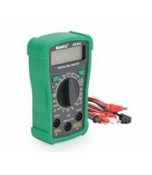 Мультиметр BAKKU BK-A830L Измерения: V, A, R (133*90*45) 0.2кг (118*70*30)
