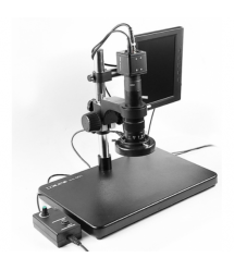 Видеомикроскоп с монитором BAKKU BA-002 подсветка люминесцентная фокус 30-180 мм Box