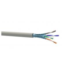 Кабель Одескабель КПпВ-ВПЭ (500) 4*2*0,56 (U/FTP-cat.6A) , OK-net, CU, экран., для внутр. работ, 500м.