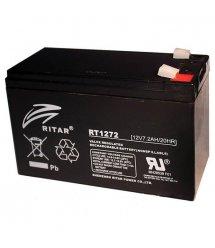 Аккумуляторная батарея AGM RITAR RT1272B, Black Case, 12V 7.2Ah ( 151 х 65 х 94 (100) ) Q10