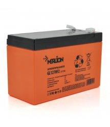 Аккумуляторная батарея MERLION GL1270F2 12 V 7Ah ( 150 x 65 x 95 (100) 2,1 кг Orange Q10