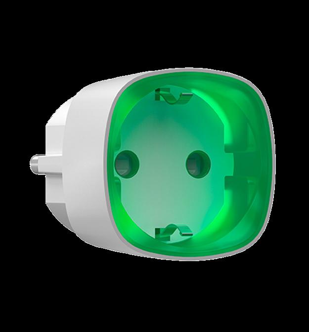 Беспроводная управляемая розетка Ajax Socket white