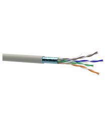 Кабель Одескабель КПВЭ-ВП (100) 24AWG 4P (FTP-cat.5E), OK-net, CU, экран., для внутр. работ, 100м.