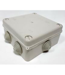 Коробка распределительная наружная 130x130x63 IP55 цвет белый