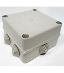 Коробка распределительная наружная 130x130x80 IP55 цвет белый