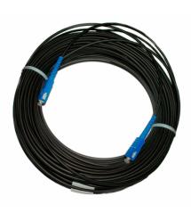 Патчкорд оптический SC / UPC-SC / UPC (ОКТ-Д(0,5)-1Е) 25м.