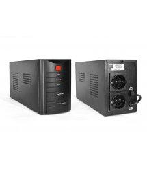 ИБП Ritar RTM600 (360W) Proxima-L, LED, AVR, 2st, 2xSCHUKO socket, 1x12V7Ah, metal Case ( 300 х 85 х140 ) Q4