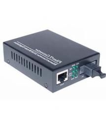 Медиаконвертер Merlion A (IC+113), 1310 WDM одноволоконный Full / Half duplex , SC 25km (0 +70°C), + блок питания 5V 1A Q60