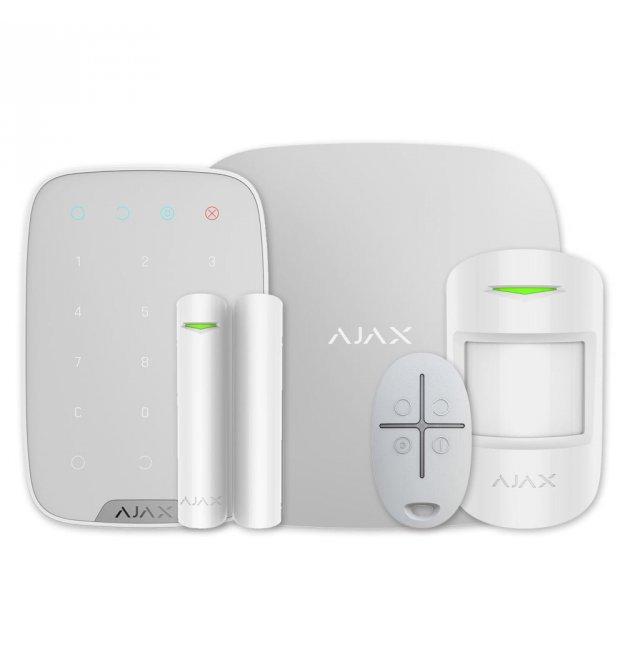 Комплект сигнализации Ajax KeypadKit white