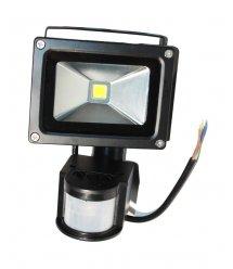 Прожектор LED c датчиком движения RJ-G-10W, IP66, 6400K (100%)
