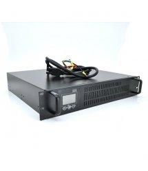 ИБП с правильной синусоидой ONLINE RT-3KL-LCD, REC 3000VA (2100Вт), 96В, под внешний АКБ, (610*605*220) 13,4 кг (480*420*90)