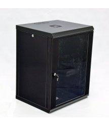 Шафа 15U, 600x500x773мм (Ш*Г*В), економ, акрилове скло, чорна