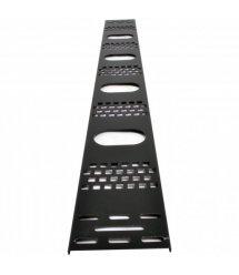 Вертикальний кабельний організатор 33U до шаф MGSE, (ширина 120 мм)