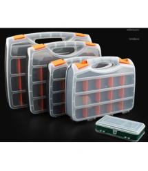 Пластмассовый переносной ящик для инструментов 70 х 310 х 380, 21 отделение