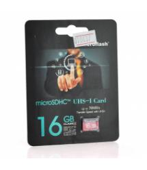 Карта памяти Microflash Micro SD, cкорость передачи данных 70MB / s, class10, 16G