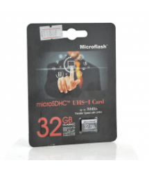 Карта памяти Microflash Micro SD, cкорость передачи данных 70MB / s, class10, 32G
